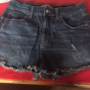 Victoria secret denim shorts